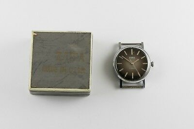 Antique Vintage Russian Wristwatch Zaria New Old Stock 1983