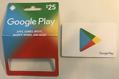 $25 Google Play Fully Loaded Gift Card