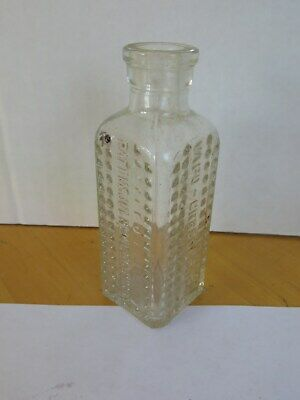 Apothecary / Medicine / Elixir Bottle Vapo-Cresolene Cork Top 1900's