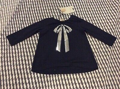 zara baby girls top 9-12 new with tags