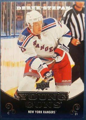 2010-11 UD Young Guns DEREK STEPAN #238 New York Rangers RC Arizona Coyotes