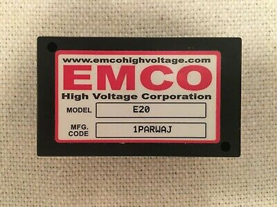 EMCO E20 adjustable 0 to 2,000 Volts 2KV 1.5mA High Voltage Power Supply Module