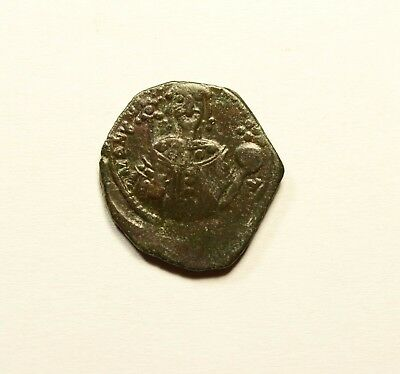 Manuel I Comnenus Authentic Ancient 1143AD Byzantine Coin