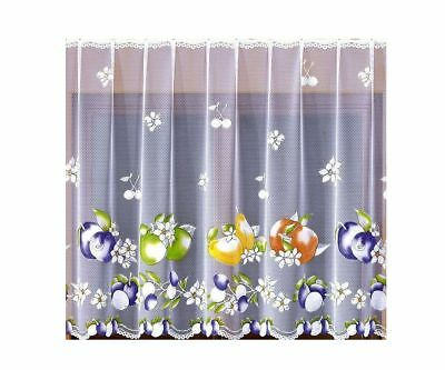 Nice Net Curtain Bunny Happy Easter Hand-Painted 300x150cm Window Decoration