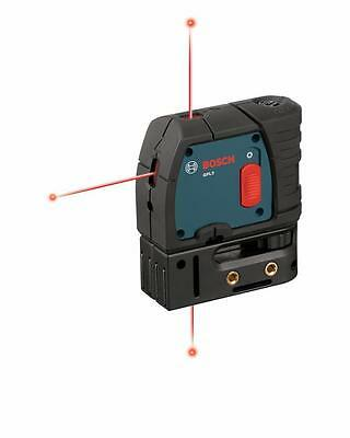 NIB Bosch Professional 3 Point Self Leveling Laser Level, +/- 1/4 in Accuracy