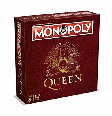 Queen Monopoly Board Game Special Edition Version Gig History Locations Singles