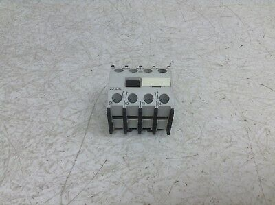 Moeller 22 DIL 2 NO 2 NC Auxiliary Contact Block 22DIL