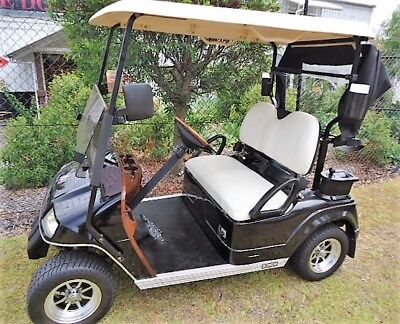 GOLF BUGGY / CART 2013 EMC Elite - VG Cond - NEW Batteries - Lots of extras