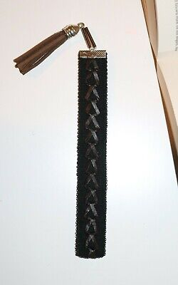Bookmark crochet, Handcraft, Authentic, Handmade, Gift, Leather Knitted