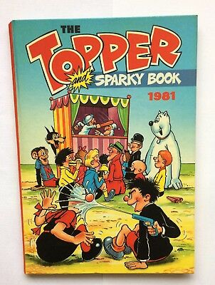 The Topper and Sparky Book - 1981 - D C Thomson & Co Ltd - Laminated hardback