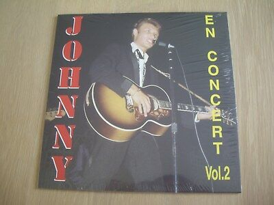 Johnny Hallyday Vinyle Jukebox magazine JBM En concert volume 2