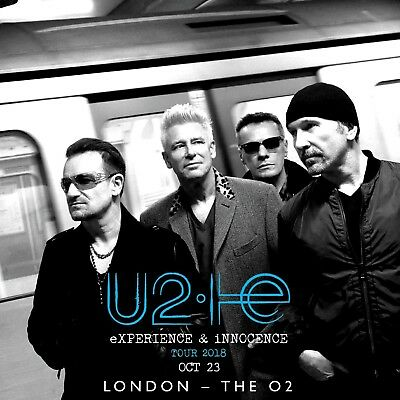 U2 Live London 2 CD 23-10-2018 SOUNDBOARD