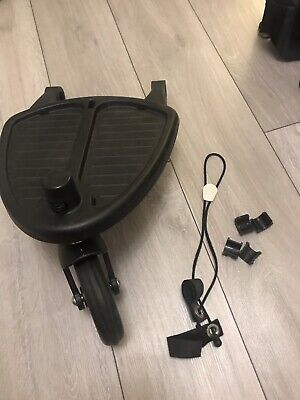 Bugaboo wheeled board with adaptors for bee