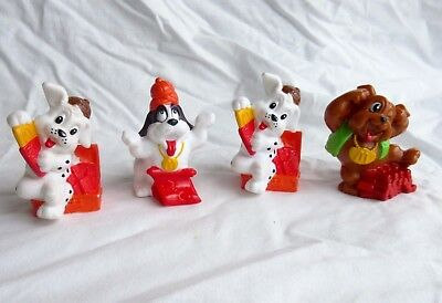 McDonalds Asia 1994 - Chinese New Year Of The Dog PVC Figures