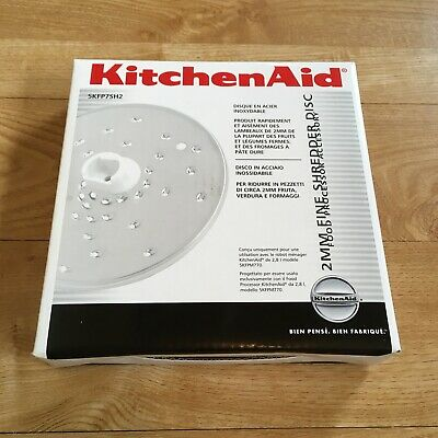 KitchenAid 5KFPSH2 2mm Fine Shredder Disc for KitchenAid food processor. New
