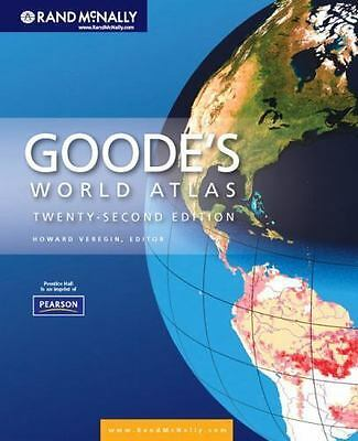 Goode's World Atlas (22nd Edition) by Rand McNally