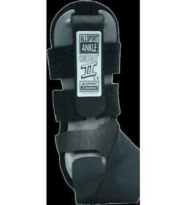 Allsport Dynamics 144 Ortho-II Ankle Support - Right (Black, OSFM)
