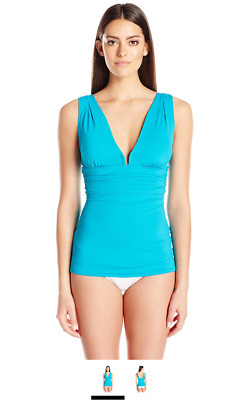 238b3c06dbd6d Contours by Coco Reef Women s Tankini Top Swimsuit with Shapwear Layering  ...