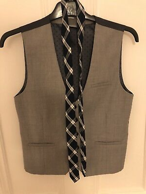 Next Boys Waistcoat and Tie age 12  Worn Once
