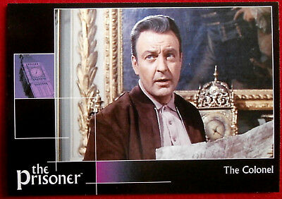 THE PRISONER, VOLUME 2 - Card #5 - The Colonel - Factory Entertainment 2010