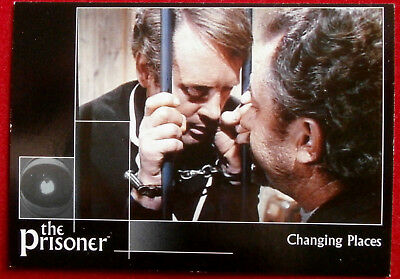 THE PRISONER, VOLUME 2 - Card #24 - Changing Places - Factory Ent. 2010
