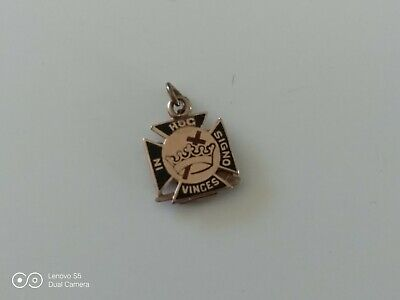 KNIGHTS TEMPLAR 32nd DEGREE MASONIC PENDANT - FOB 'IN HOC SIGNO VINCES