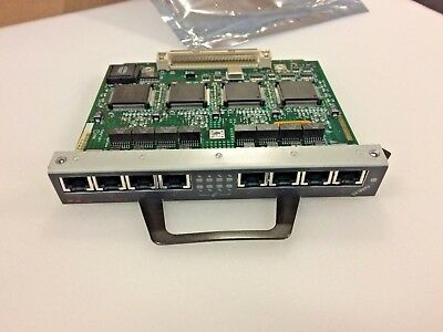 CISCO PA-8E, 8-Port Ethernet 10BaseT port Adapter VXR