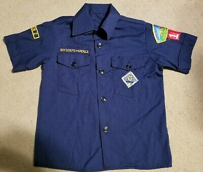 Official BOY SCOUTS OF AMERICA Cub Scout uniform Shirt Size Youth  Small