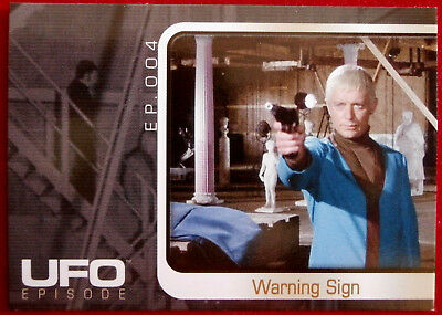 UFO - Individual Card from Base Set, Cards Inc #033 Exposed - Warning Sign