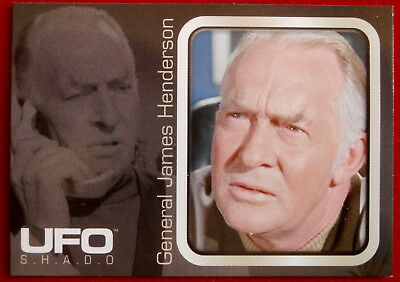 UFO - Individual Card from Base Set issued by Cards Inc - #006 James Henderson