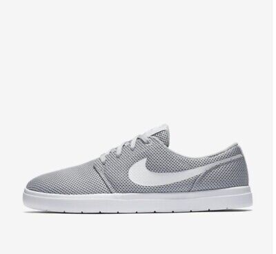 cbecb3d61d15 Nike Mens Size 13 SB Portmore II Ultralight Skate Shoes Wolf Grey  880271-011 New