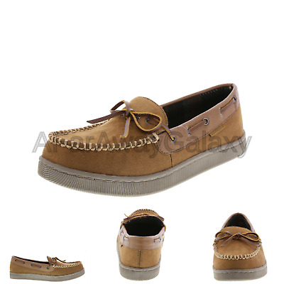 a0a05b5555c9 Airwalk Men s Mason Moccasin Slipper Tan 6 M US