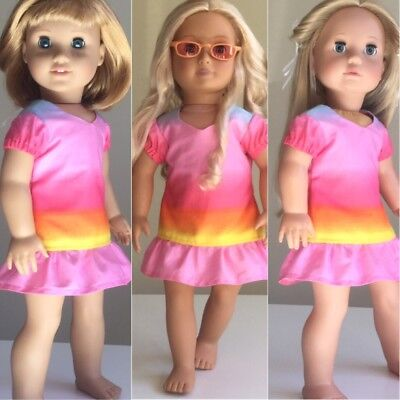 "Made To Fit American Girl And Our Generation. Dress ONLY. 18"" Doll Clothes."