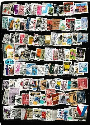 #1685=used mix of 115 different worldwide stamps