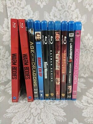 Used and New BluRay Movies Drama Comedy Tv Series Box Set Romance SciFi You Pick