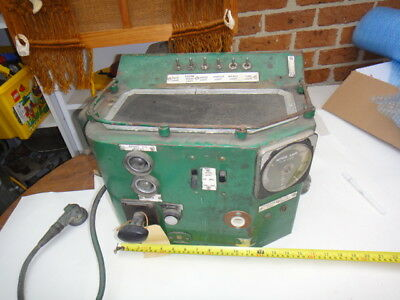 Railway Control Panel Great For Restore Or Parts From Deceased Estate