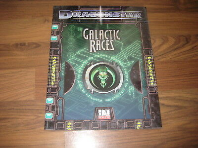 d20 Dragonstar DS05 Galactic Races Accessory 2003 FFG Softcover VG