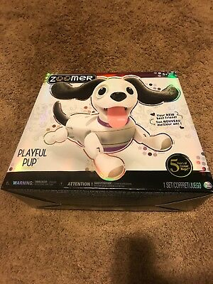 New Zoomer Playful Pup Realistic interactive Robotic Dog