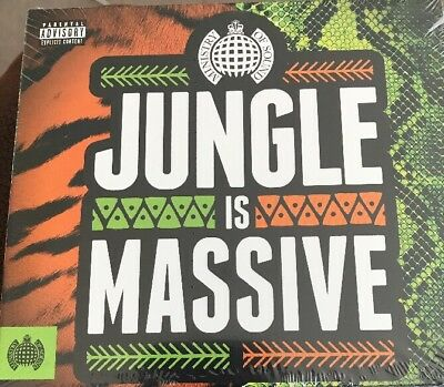 Various Artists-Jungle Is Massive  Cd New