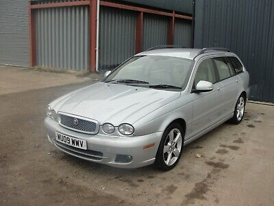2009 Jaguar X Type Estate Se - Good Spec Fsh - Spares Or Repair - Clutch Failed