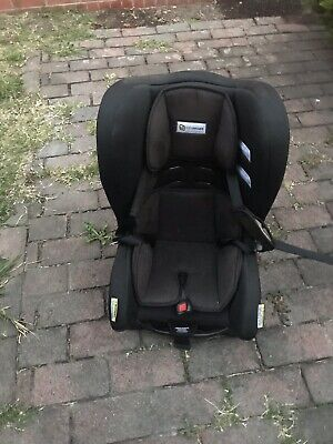 InfaSecure Black Childrens Baby Car Seat From 0 Till 8 Years Old.
