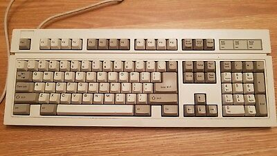 Dih Shin Vintage 5 Pin Din Keyboard Rubber Dome Retro Computer Mdl-DS-1003