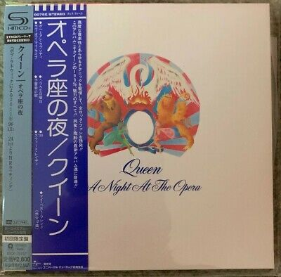 Queen A Night At The Opera Japanese Edition SHM CD