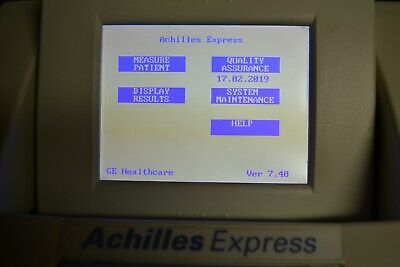 GE Lunar Achilles Express Bone Densitometer in perfect condition! SAVE $$$ READ!