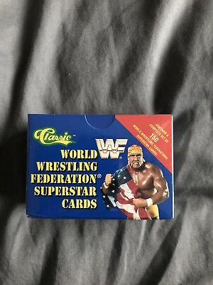 WWF/WWE Classic trading cards 1991 Complete Set