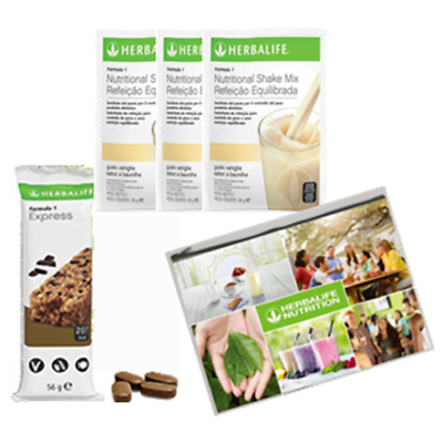 Kit Prova Herbalife Formula 1 + Thermo Complete Kit prova