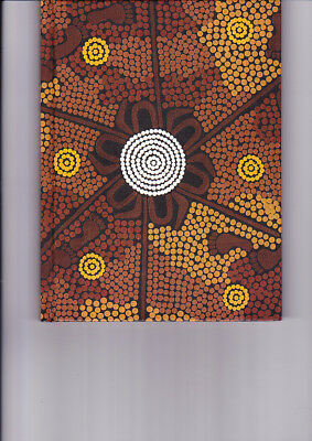 "Aboriginal Blank Book "" Hunters Dreaming""  by Joe Jungala  ( NEW )"