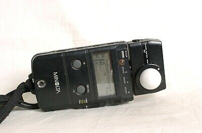 Minolta Flash meter IV - Well used, missing battery COVER. Works