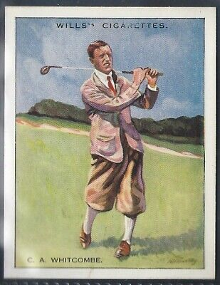 Wills-Famous Golf Ers-#25- Whitcombe