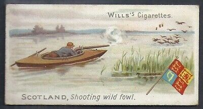 Wills-Sports Of All Nations-#09- Shooting Wild Fowl - Scotland